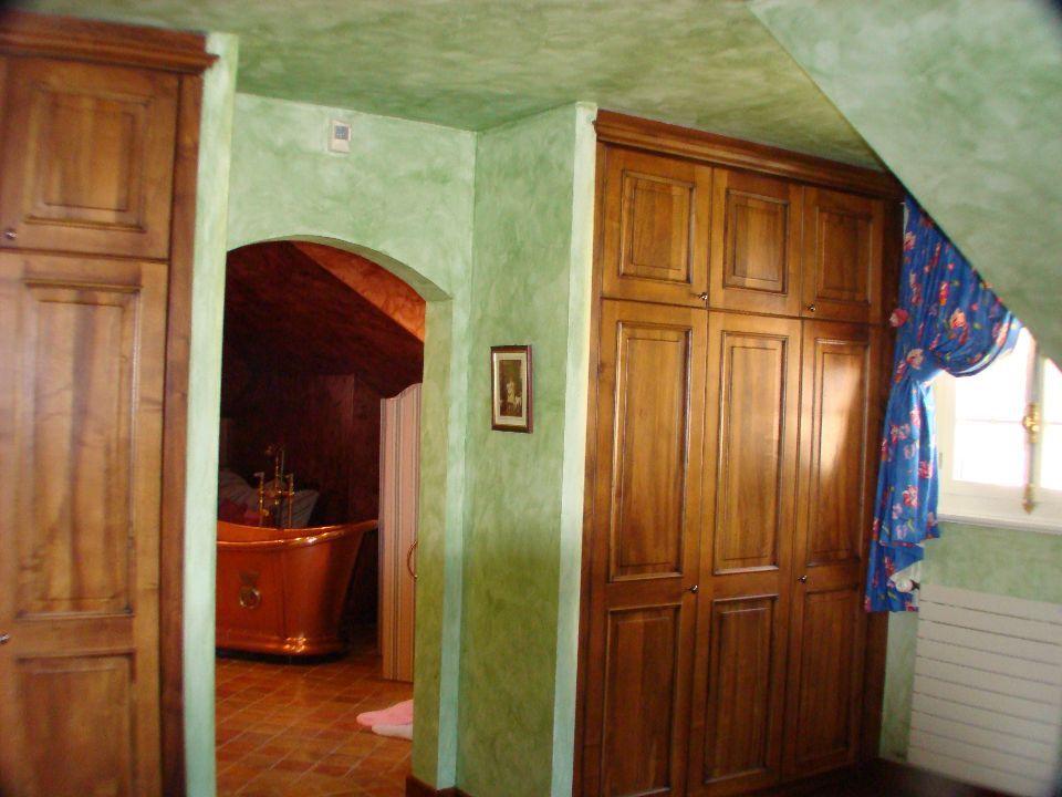 Chambre à l'éponge