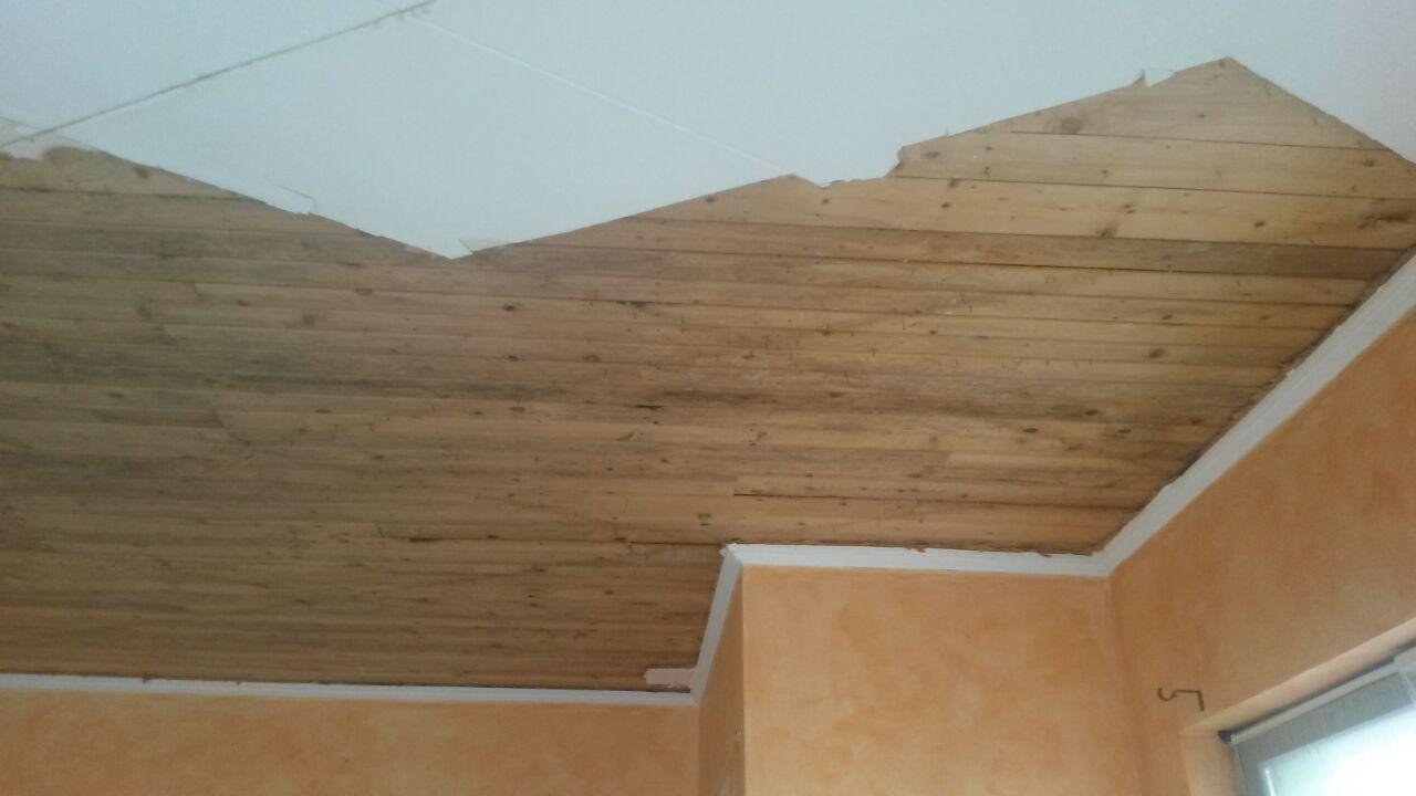 Faux plafond avant