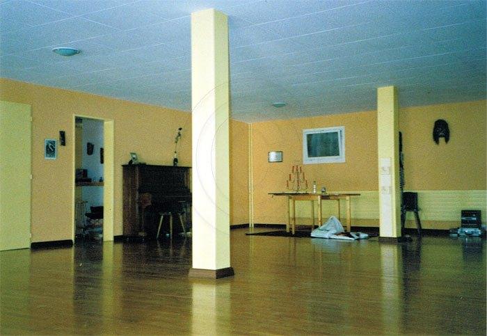 peinture salle de danse