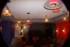 Peinture mur et intégration lumière